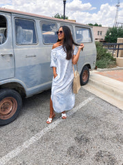 Walk The Beach Maxi Dress