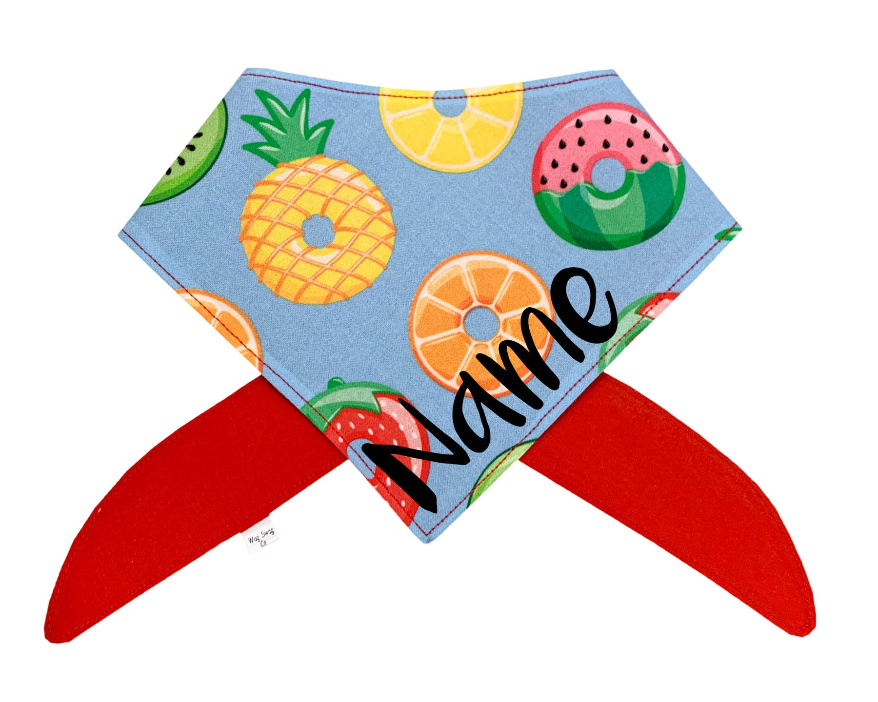 Summer Fruit Donuts Bandana
