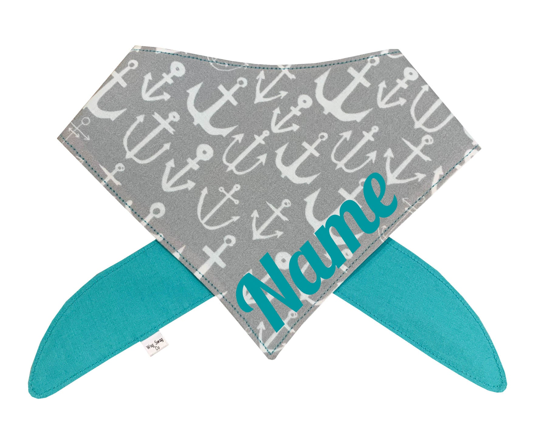 Nautical Anchor Dog Bandana