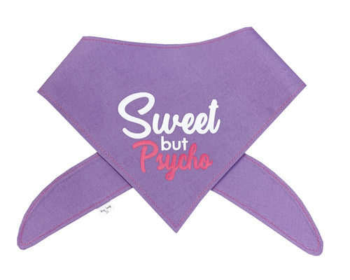 Sweet But Psycho Bandana - Lavender