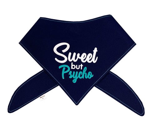 Sweet But Psycho Bandana - Navy