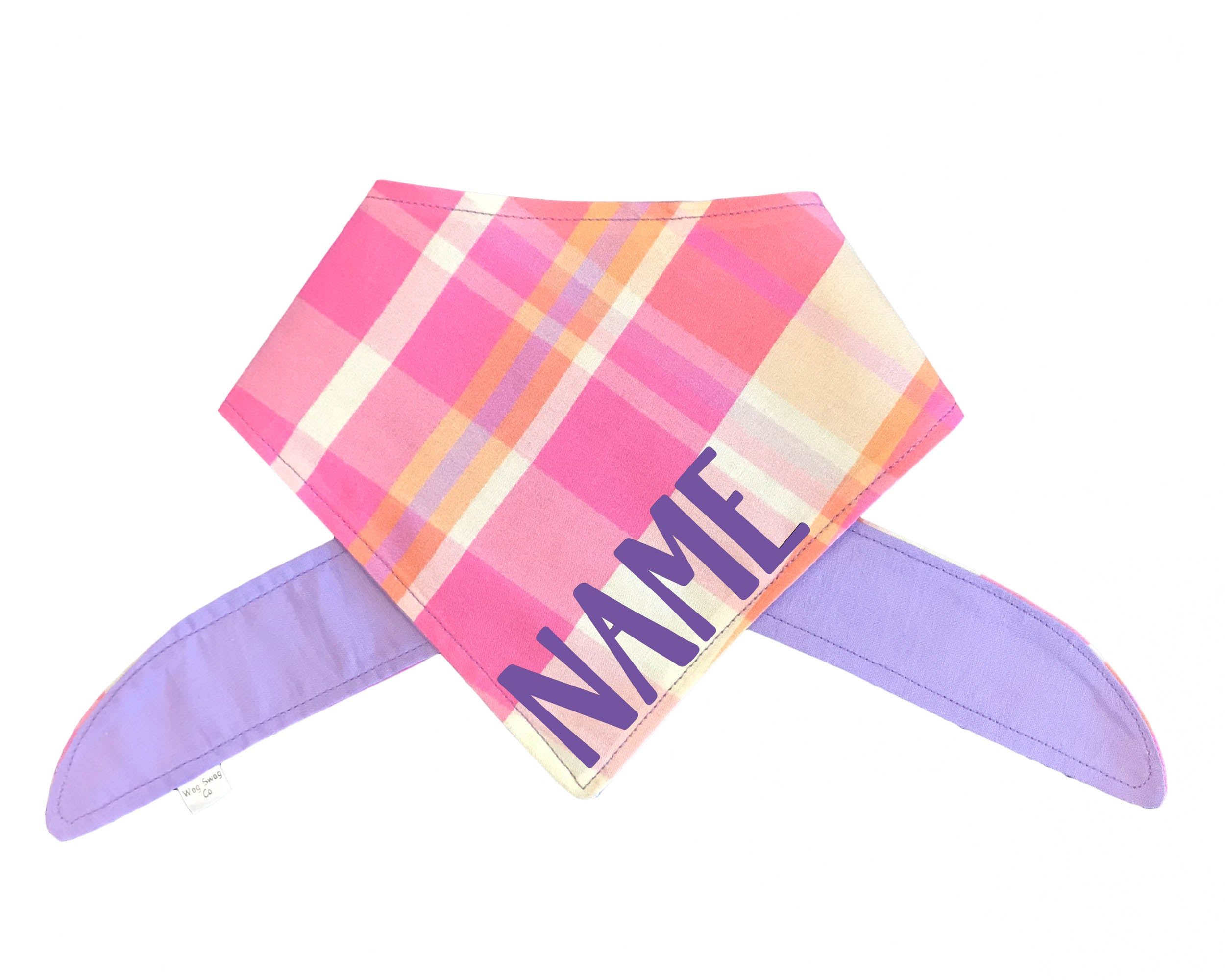 Spring Plaid Bandana *CLEARANCE*