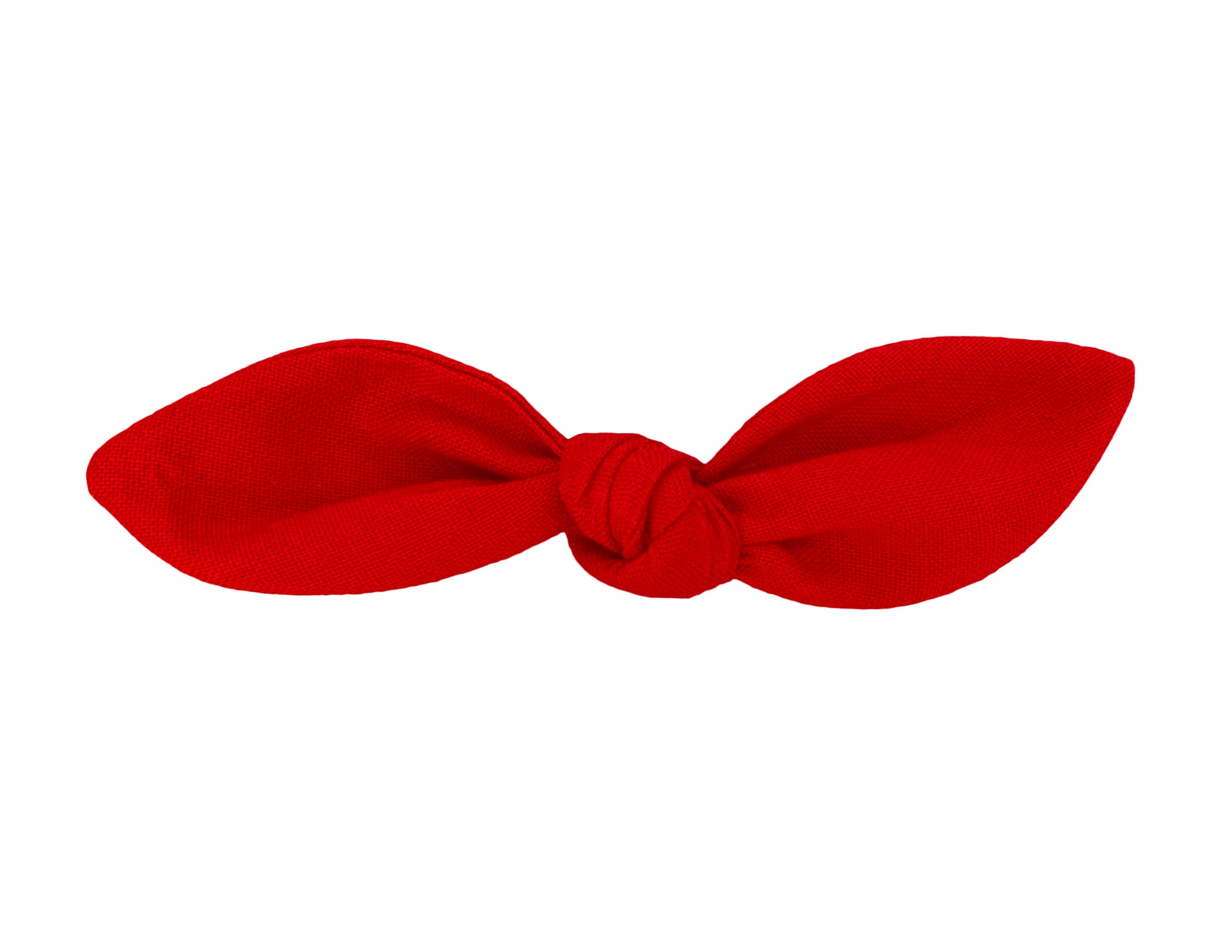 Red Hair Bow
