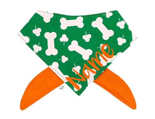 Bones and Clovers Bandana