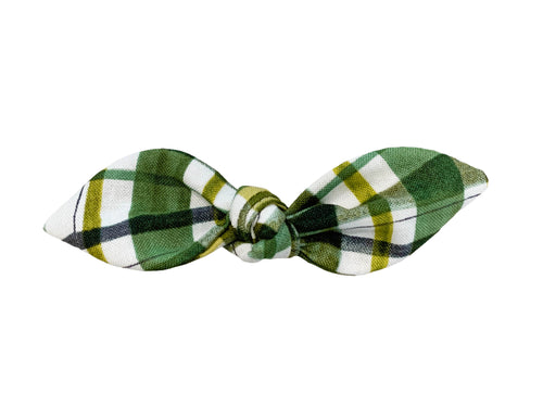 Irish Striped Hair Bow