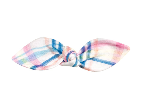 Easter Plaid Hair Bow