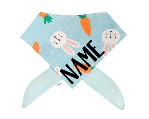 Bunnies and Carrots Bandana *PRE-ORDER*