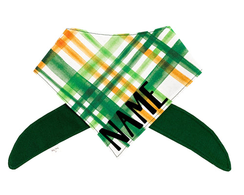 Irish Plaid Bandana