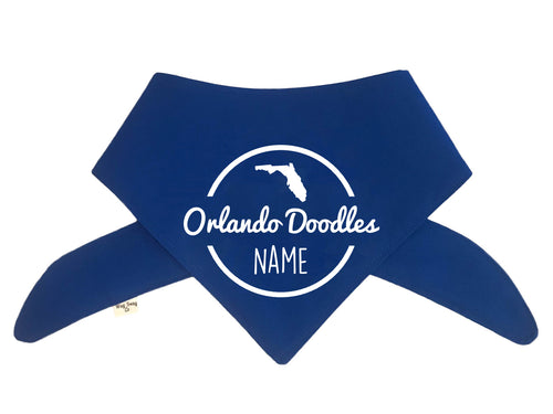 Orlando Doodles Bandana - Color Options Avail.