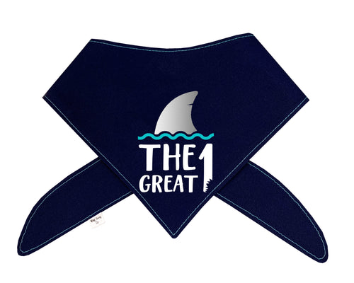 The Great Shark Birthday Bandana (No Personalization)