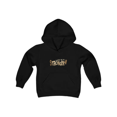 STRONGER [ in ] GOLD • Heavy Blend Hooded Sweatshirt