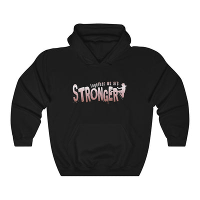 STRONGER [ in ] PINK • Heavy Blend™ Hooded Sweatshirt
