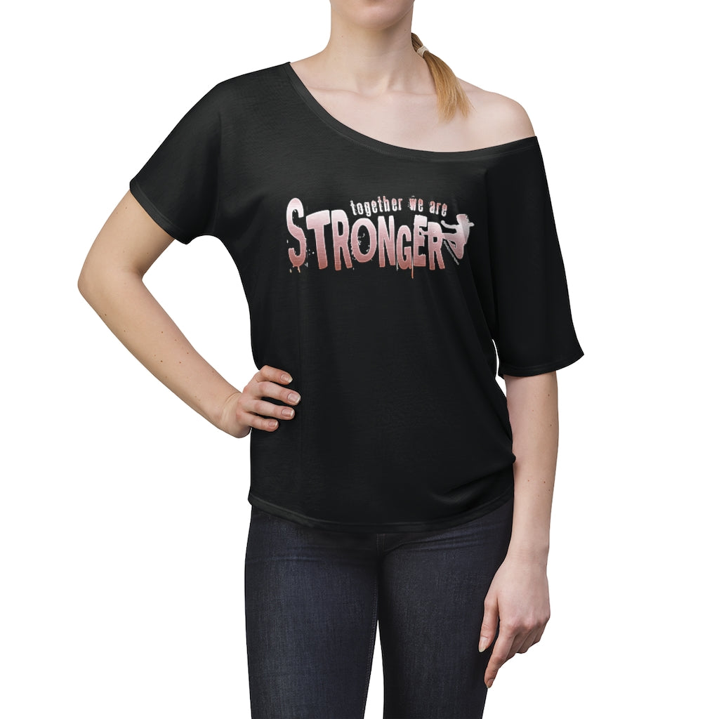 STRONGER [ in ] PINK • Slouchy top