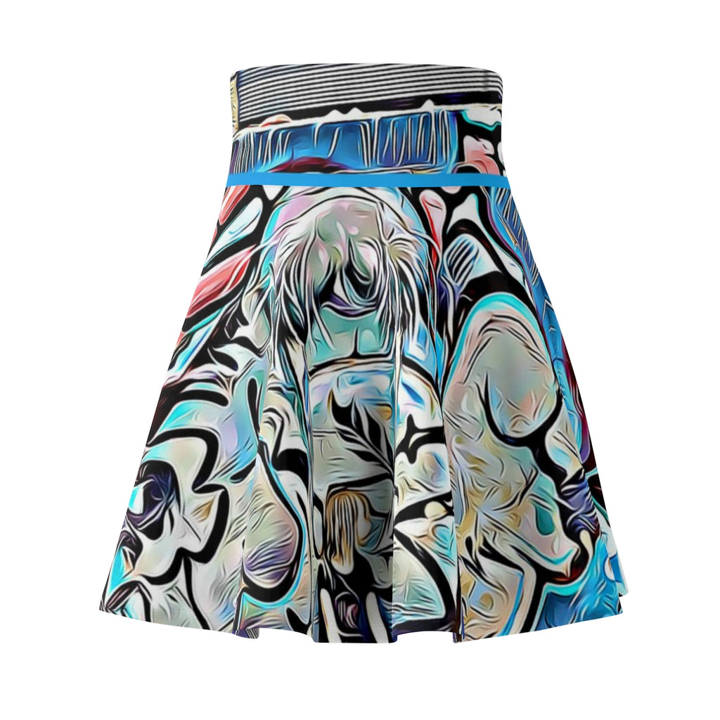 I AM THE WALRUS! Skater Skirt