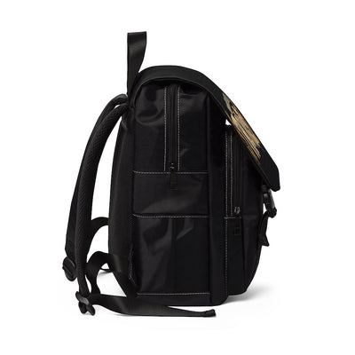 STRONGER [ in ] GOLD • Casual Shoulder Backpack