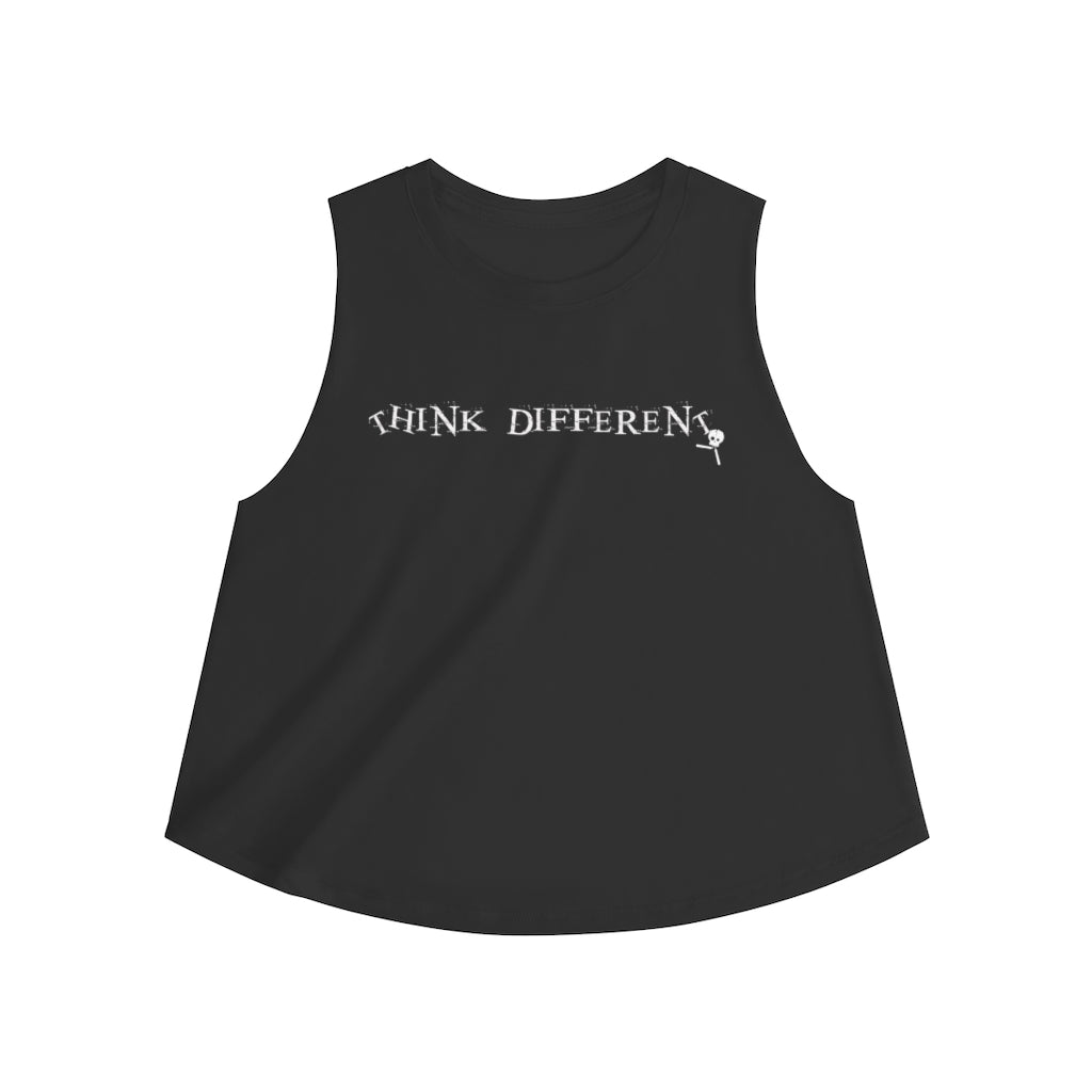 THINK DIFFERENT • Crop top