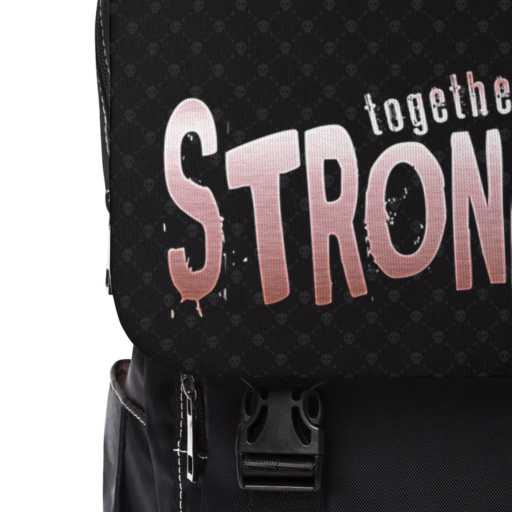 STRONGER [ in ] PINK • Casual Shoulder Backpack