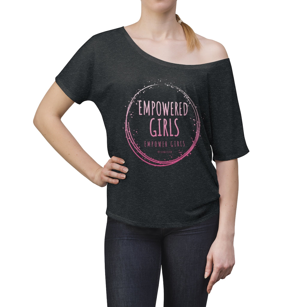 EMPOWERED GIRLS • Slouchy top