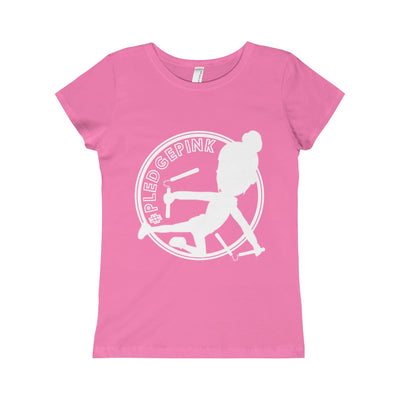 #PLEDGEPINK: Girls Warrior-Princess Tee