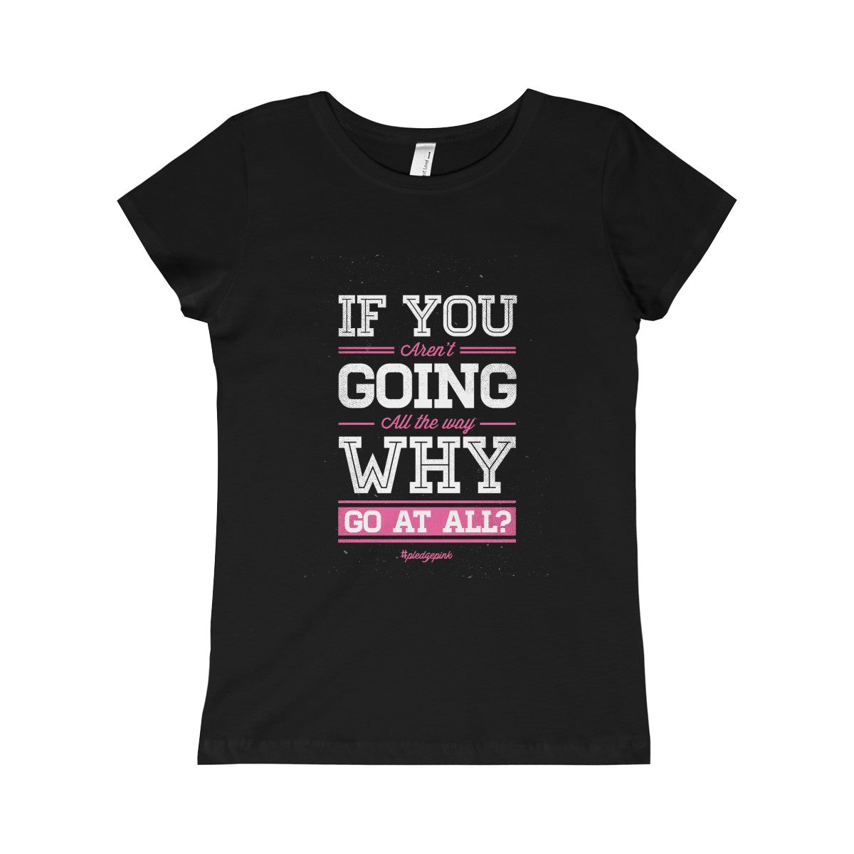 Go For It: Girls Warrior-Princess Tee