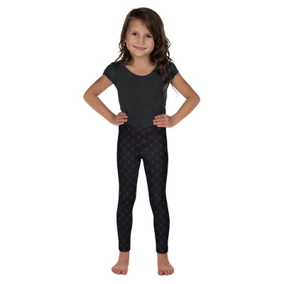 BLACK SKULLS • Kid's Leggings