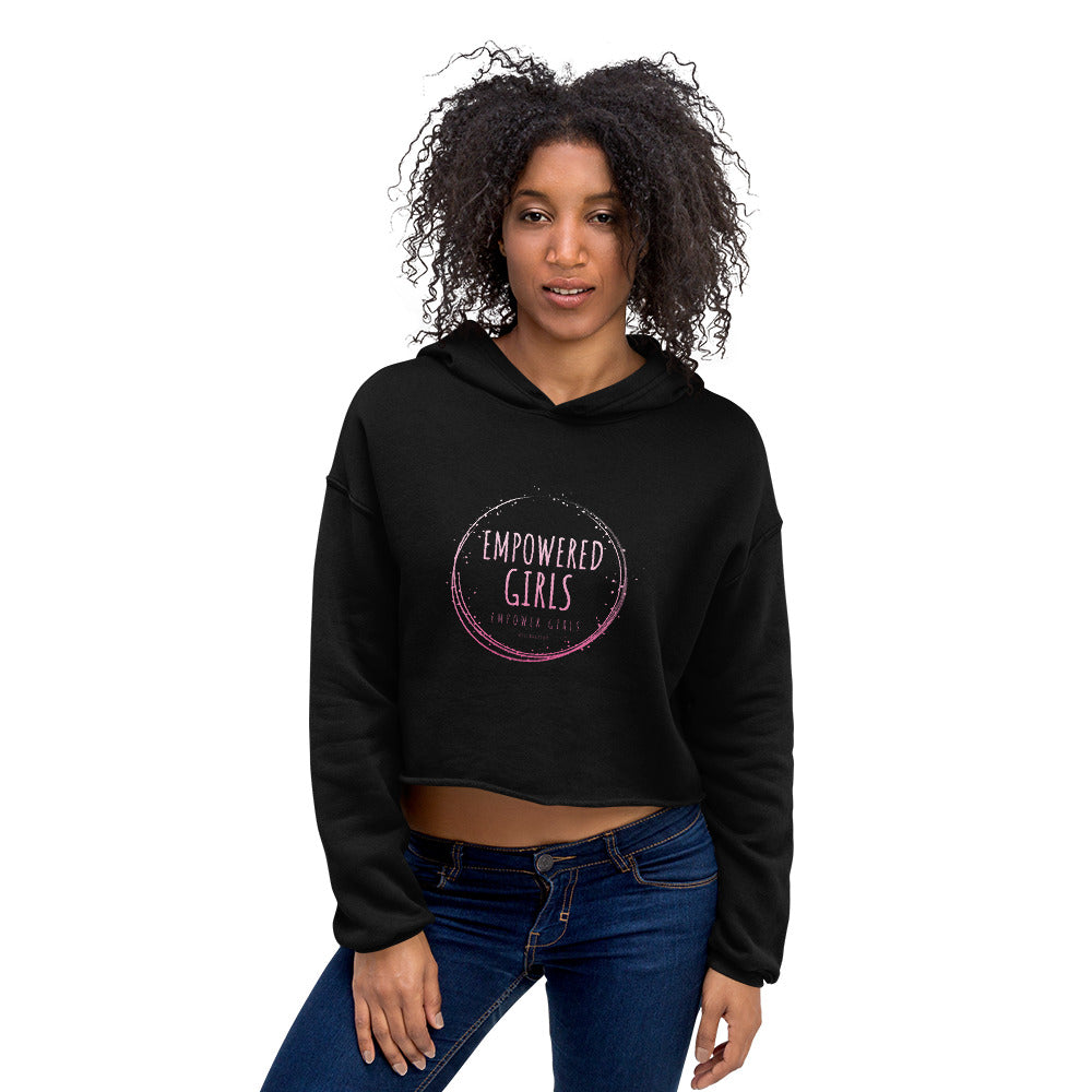 EMPOWERED WOMEN! Crop Hoodie