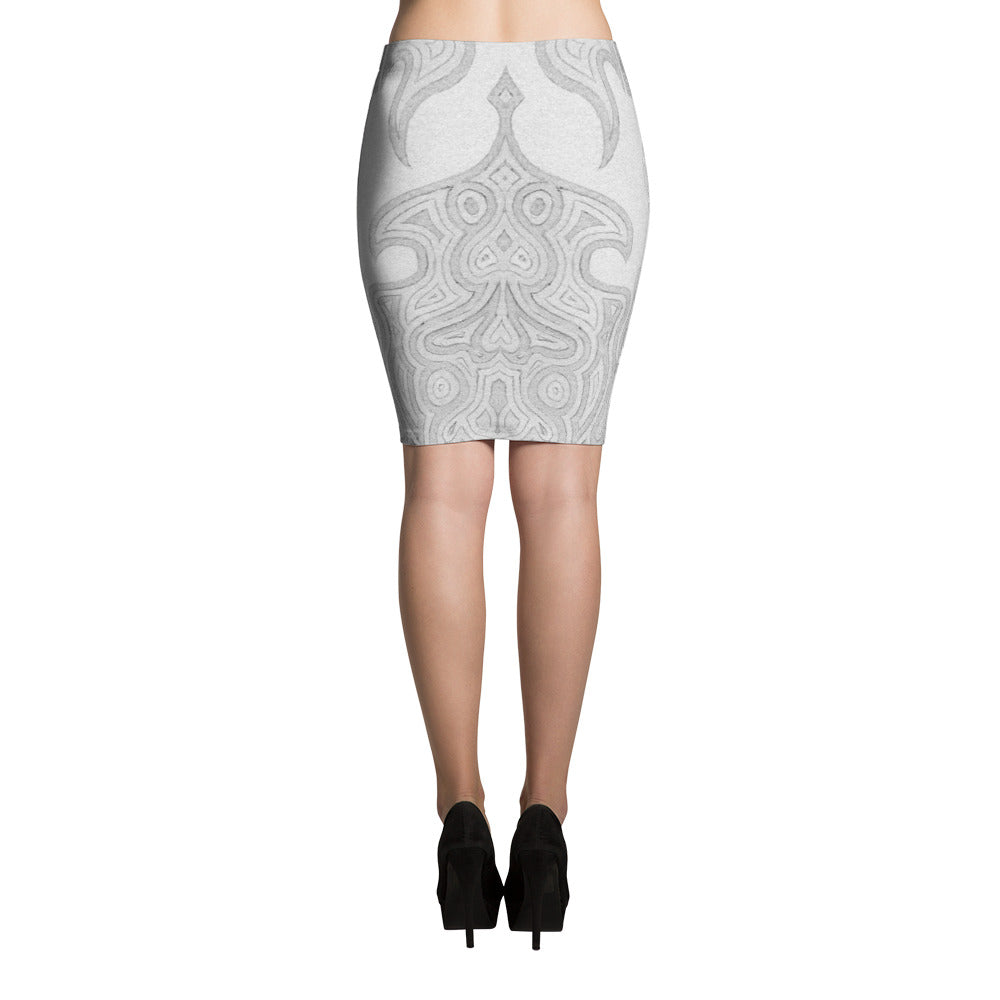 TITANIUM • Pencil Skirt