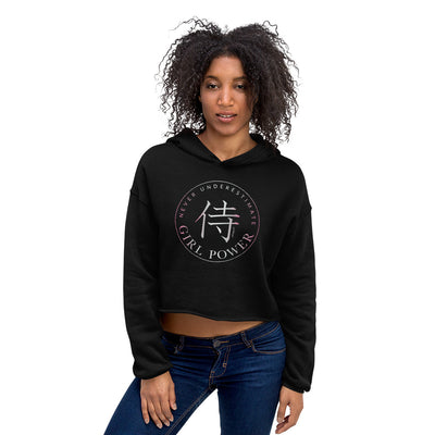 GIRL POWER! • Crop Hoodie
