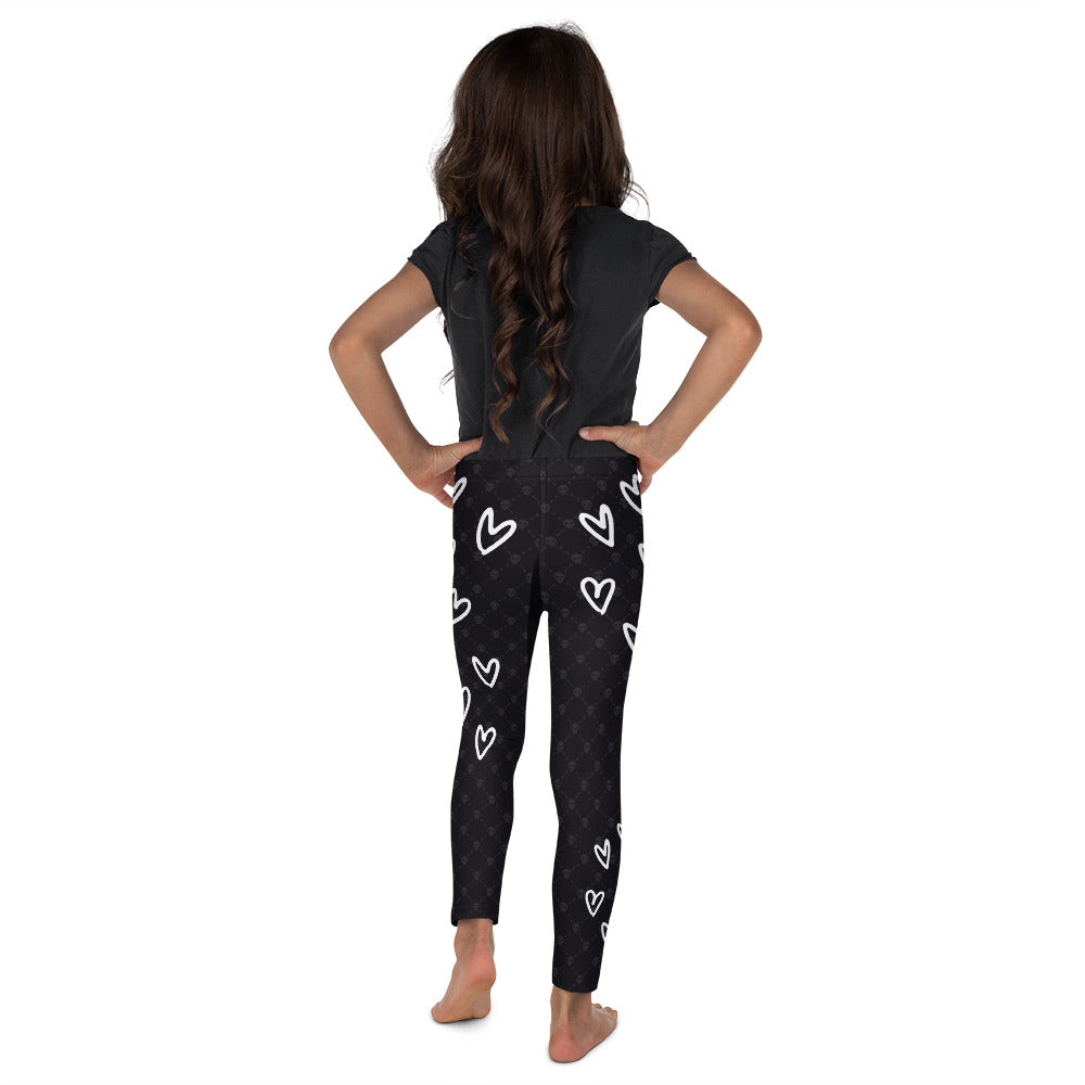 LOVE & SKULLS • Kid's Leggings