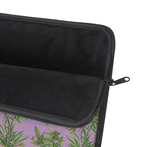 Cannabis Sativa Laptop Sleeve-Laptop Sleeves-Eat me!