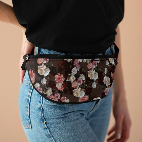 New Order Floral Fanny Pack-Fanny Packs-Eat me!