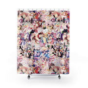 Hentai Shower Curtain-Shower Curtains-Eat me!