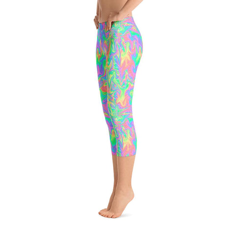 Acid Pastel Leggings-Leggings-Eat me!
