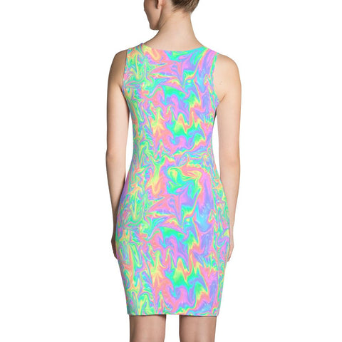 Acid Pastel Dress-Dresses-Eat me!