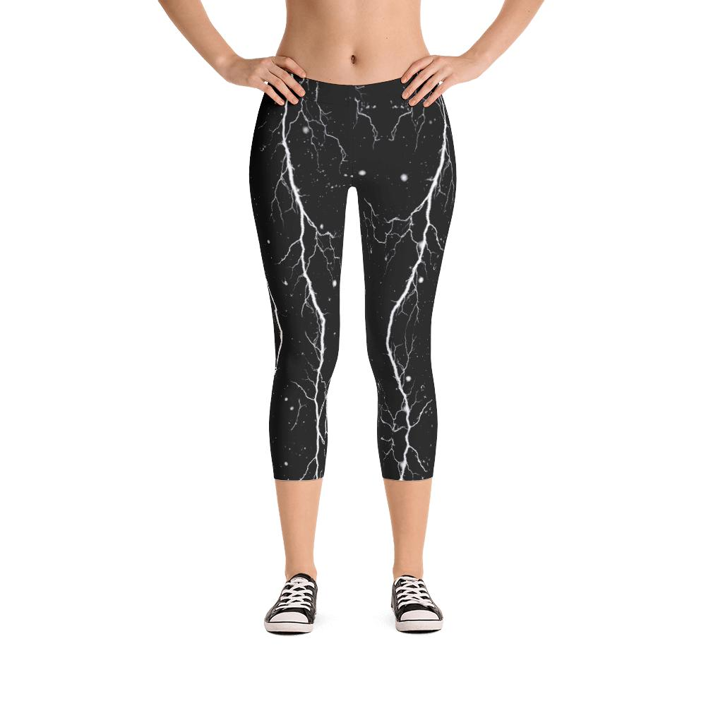 Black Storm Leggings | Tormenta Negra Leggings-Leggings-Eat me!