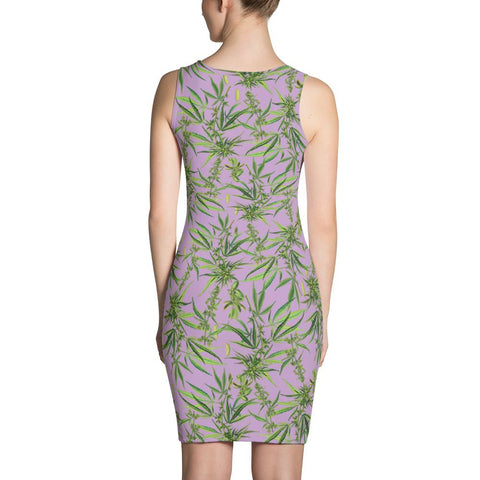Cannabis Sativa Dress-Dresses-Eat me!