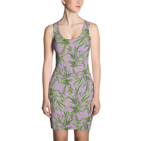 Cannabis Sativa Dress | Vestido Cannabis Sativa