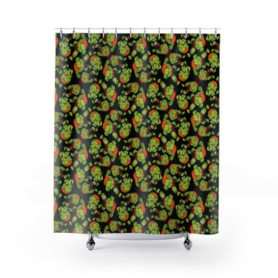 Blanka Shower Curtain-Shower Curtains-Eat me!