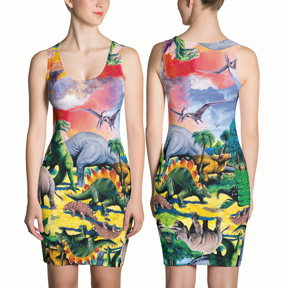 Dinosaur Dress | Vestido Dinosaurios-Dresses-Eat me!