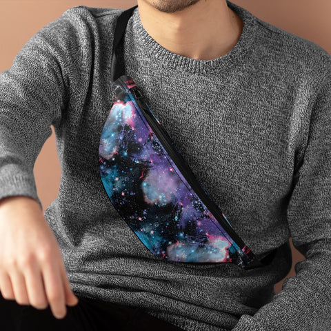 Galaxy Universe Fanny Pack-Fanny Packs-Eat me!