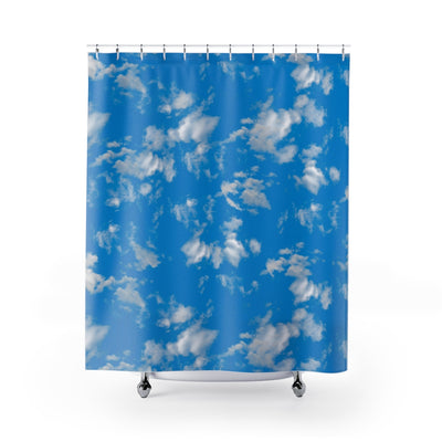 Sky Clouds Shower Curtain-Shower Curtains-Eat me!