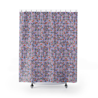 Cats Shower Curtain-Shower Curtains-Eat me!