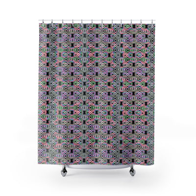 Rainbow Pearl Shower Curtain-Shower Curtains-Eat me!