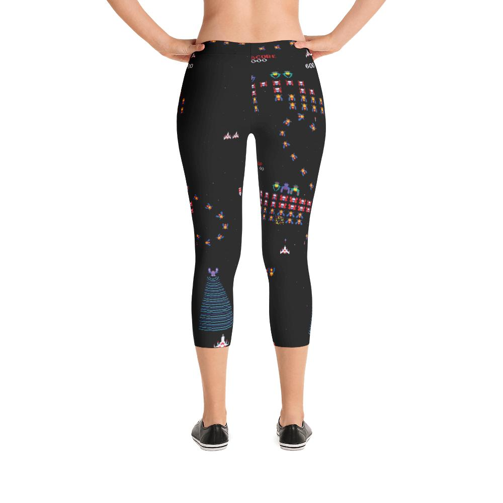 Galaga Leggings | Galaga Leggings-Leggings-Eat me!