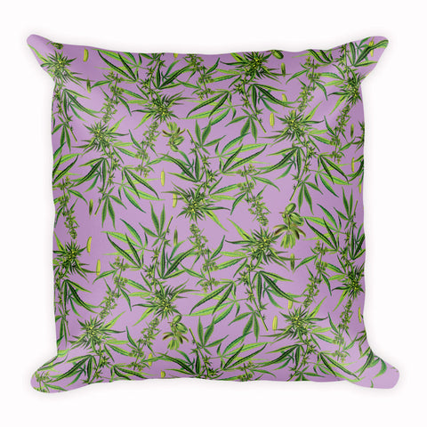 Cannabis Pillow | Cojín Cannabis Sativa