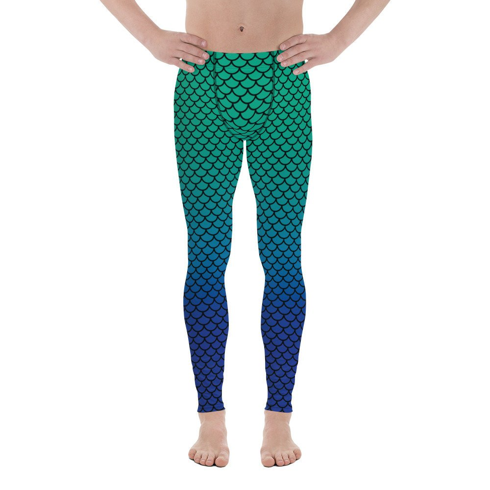 Merman Fish Scale Meggings-Meggings-Eat me!