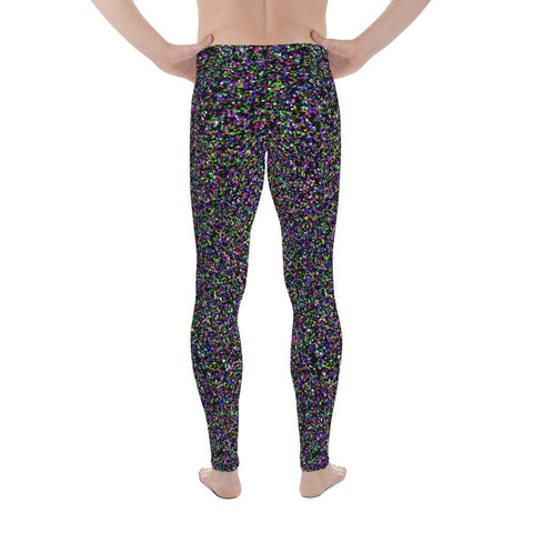 Crystallized Performance Men's Leggings Colorful Megging