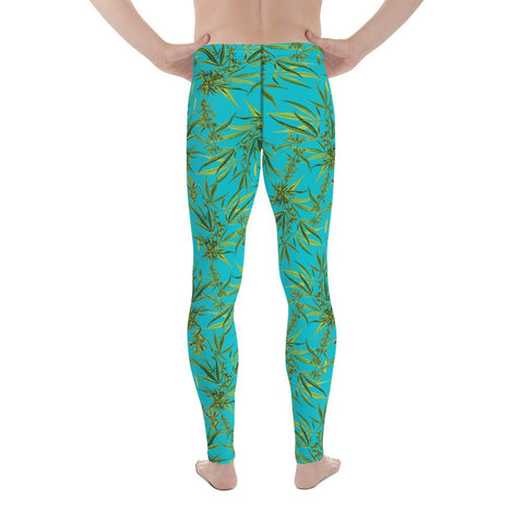 Macho Weed Plant Men's Leggings-Meggings-Eat me!