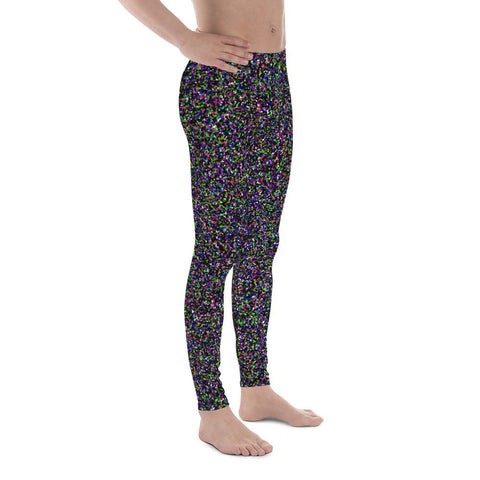 Crystallized Performance Men's Leggings-Meggings-Eat me!