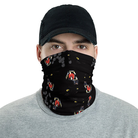 12 in 1 Black Panther Neck Gaiter Face Mask-Neck Gaiter-Eat me!